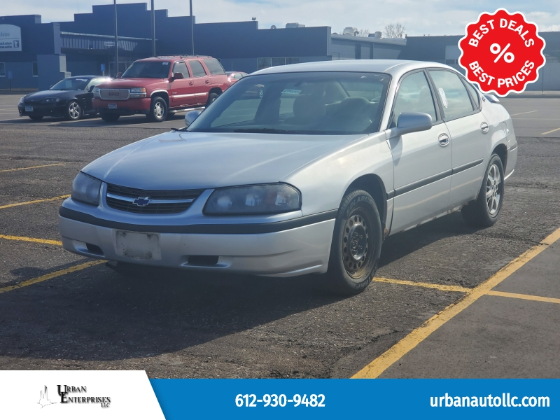 Chevrolet Impala 2001 price $1,595 Cash