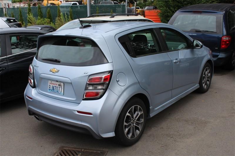Chevrolet Sonic 2017 price $12,999