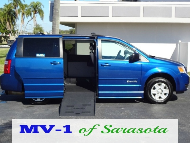 2010 dodge grand caravan se side entry mv1 of sarasota preowned. Black Bedroom Furniture Sets. Home Design Ideas