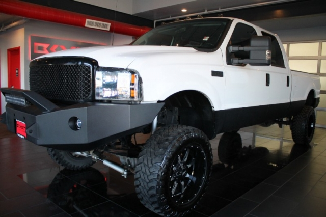 2000 Ford F-250 Crew Cab Lifted Diesel 7.3 4WD