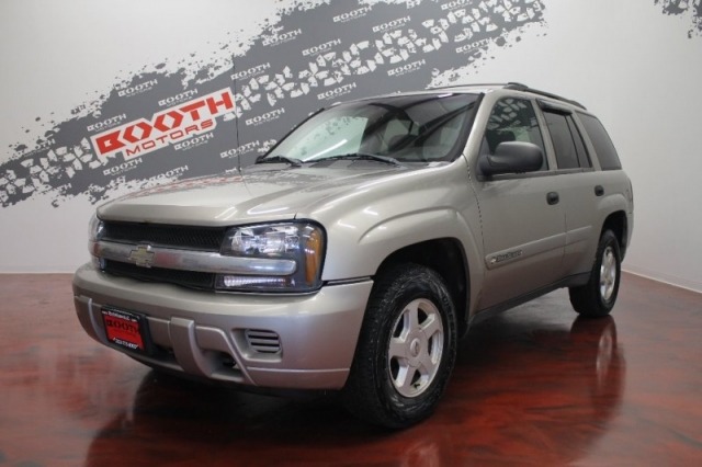2002 Chevrolet Trailblazer 4dr 4wd Inventory Booth Motors Auto