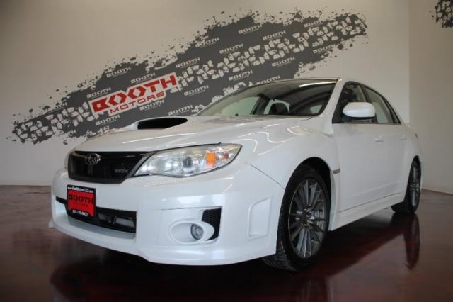 2012 Subaru Impreza Sedan WRX Limited