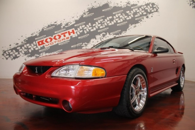 1996 Ford Mustang Cobra Supercharged
