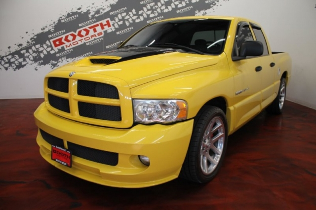 2005 Dodge Ram SRT-10 Yellow Fever
