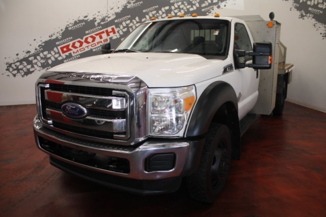 2011 Ford F-550 Flat Bed