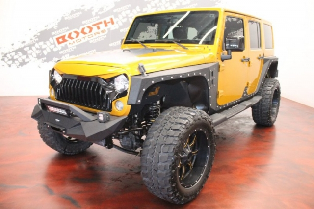2014 Jeep Wrangler Limited Altitude