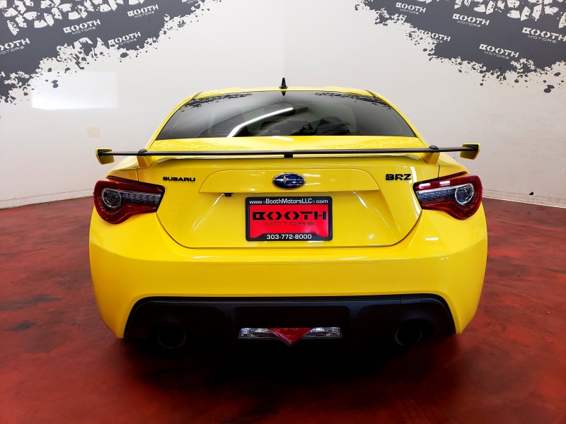 Subaru BRZ Series. Yellow Limited 2017 price $21,995