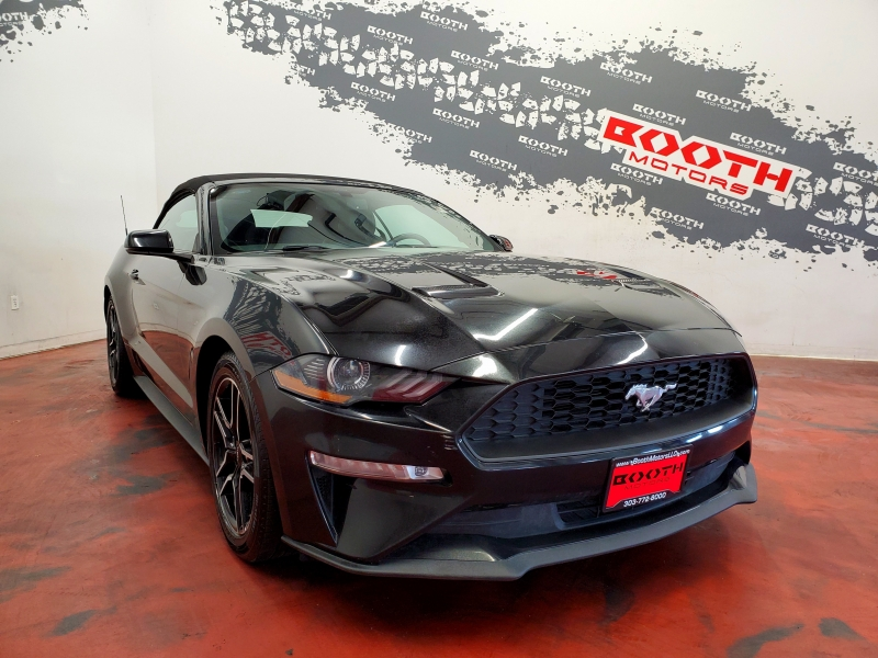 Ford Mustang Premium EcoBoost Convertible 2018 price $18,495
