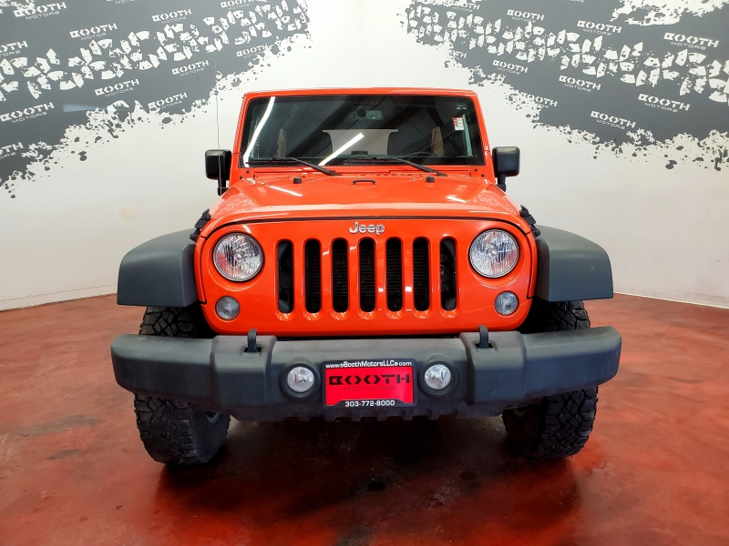 Jeep Wrangler Unlimited Sport 4WD 2015 price $21,995