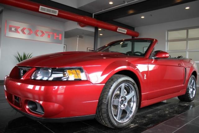 2003 Ford Mustang Cobra Convertible