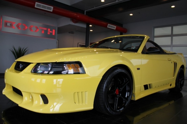 2002 Ford Mustang Saleen Supercharged