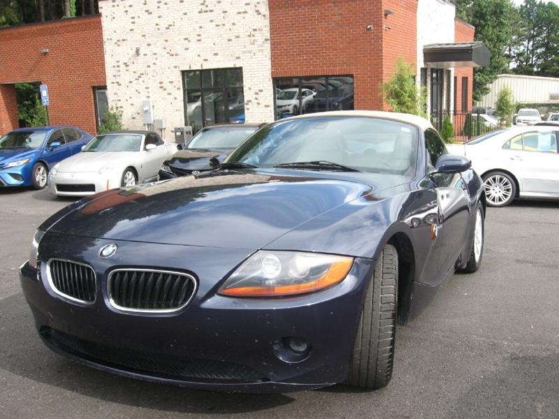 2004 Bmw Z4 25i 2dr Roadster Inventory Atlanta Unique