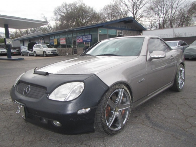 2003 Mercedes-Benz SLK-Class