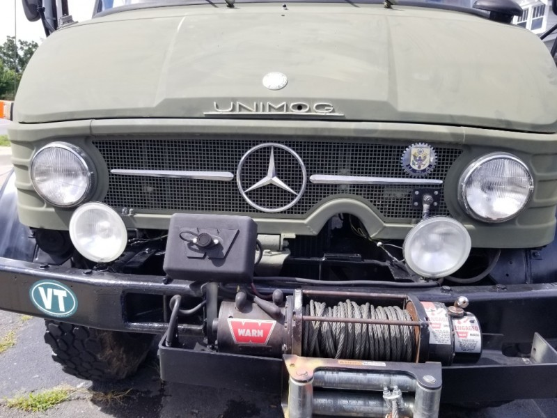 Mercedes-Benz Unimog 1972 price $15,700