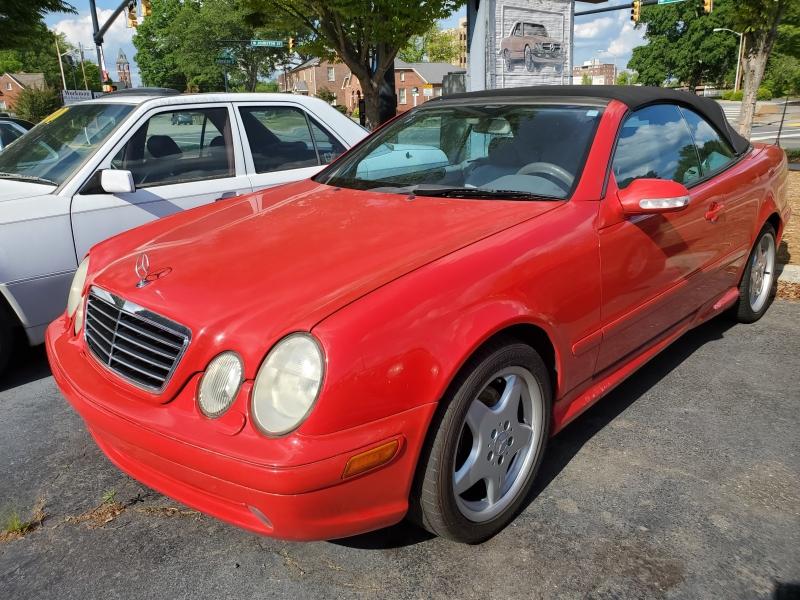 Mercedes-Benz CLK-Class 2001 price $3,900