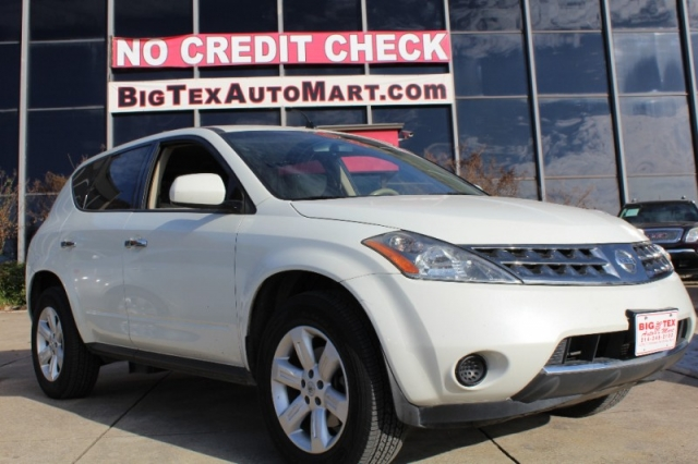 2006 nissan murano 4dr s v6 awd inventory big tex auto mart auto dealership in dallas texas. Black Bedroom Furniture Sets. Home Design Ideas