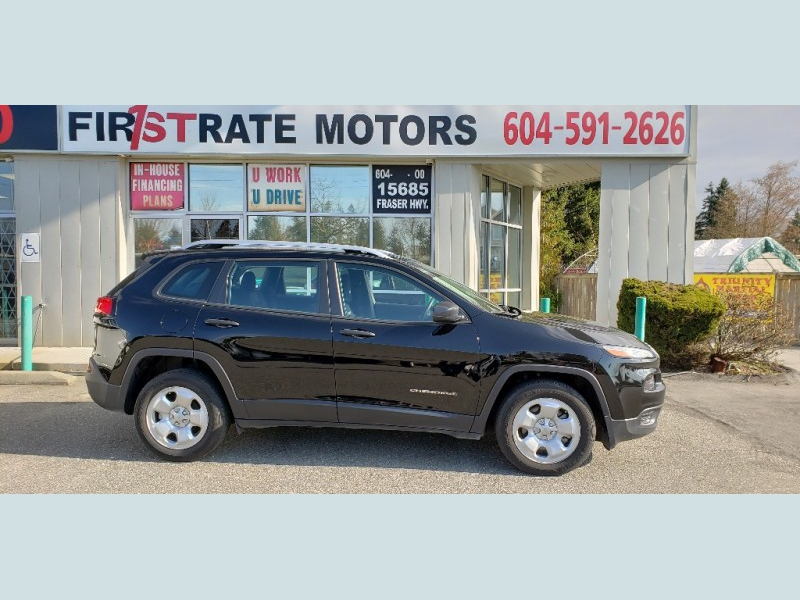 Jeep Cherokee 2017 price $20,900
