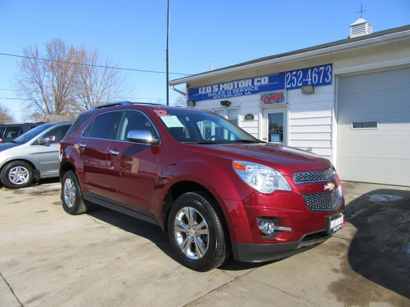 Chevrolet Equinox 2012 price $9,595