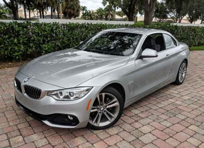 2017 BMW 4 Series 430i Convertible SULEV