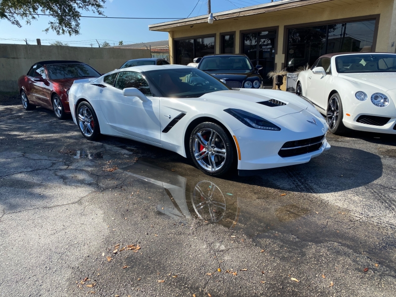 Chevrolet Corvette 2017 price $46,500