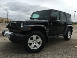 JEEP WRANGLER UNLIMI 2011