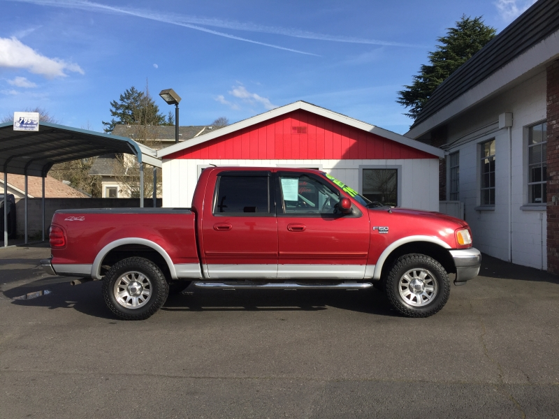 FORD F150 SUPERCREW CAB 2003 price