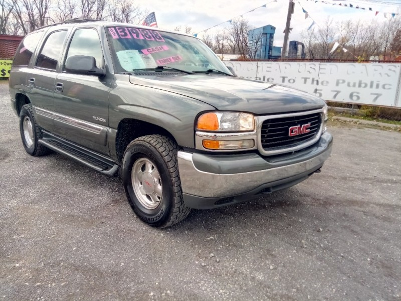 GMC Yukon 2001 price $2,000