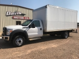 Ford Super Duty F-550 DRW 2014