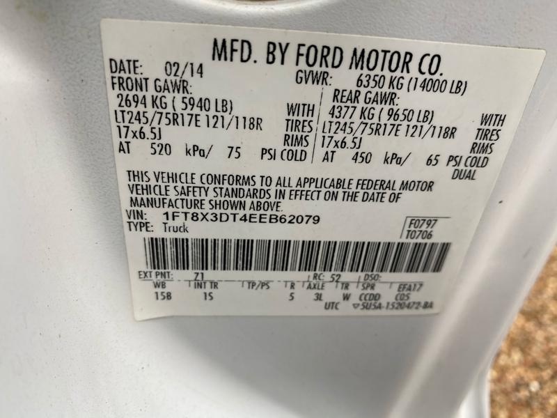 Ford Super Duty F-350 DRW 2014 price $14,500