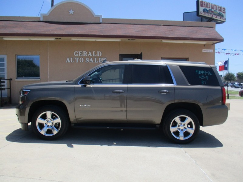 Chevrolet Tahoe 2016 price