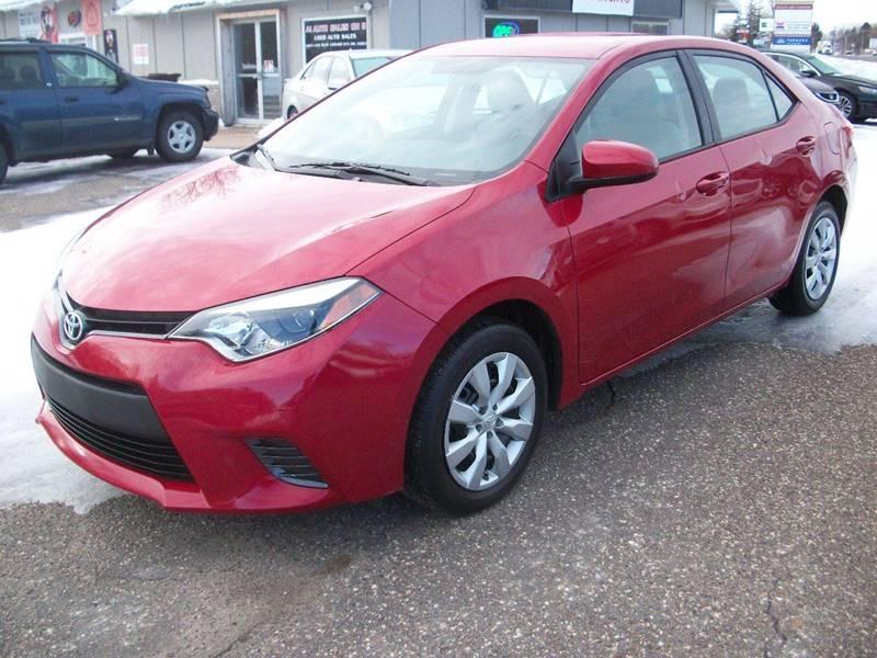 Toyota Corolla 2016 price $8,995