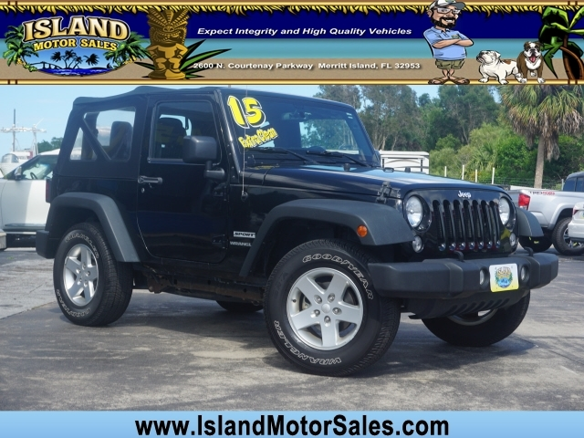 Jeep Wrangler 2015 price $18,875