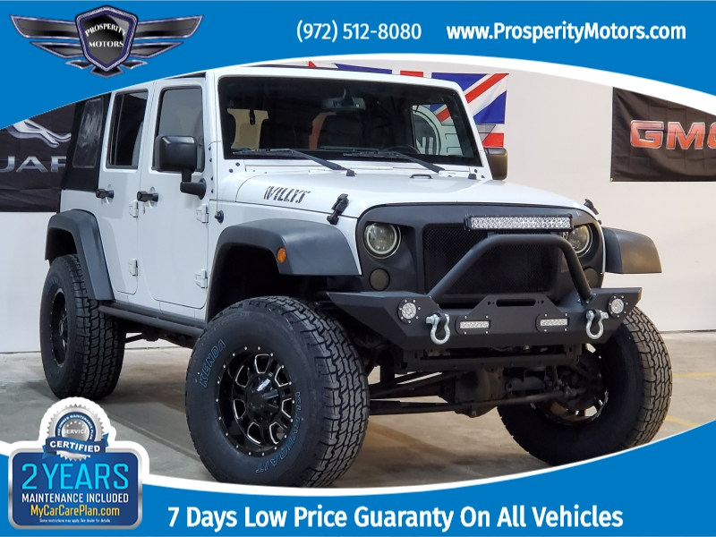 Jeep Wrangler Unlimited 2016 price $26,997