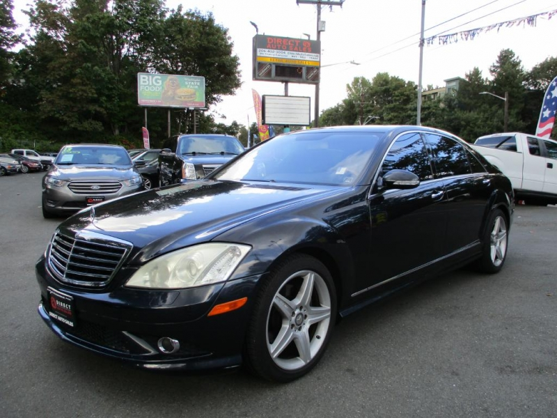 2008 mercedes benz s 550 inventory direct auto sales for Mercedes benz dealership seattle