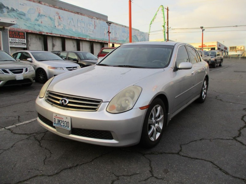 INFINITI G35 2005 price $4,500