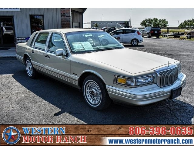 1997 Lincoln Town Car Executive Inventory Western Motor Ranch