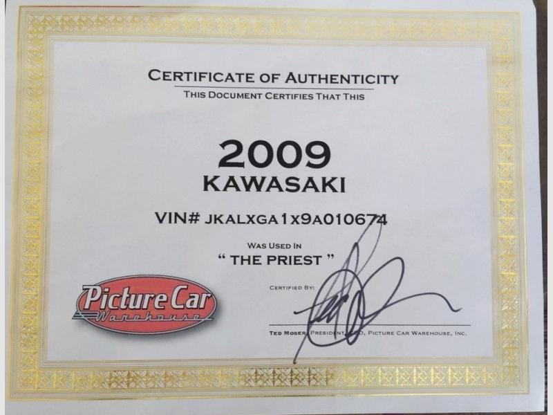Kawasaki 250 2009 price $2,799