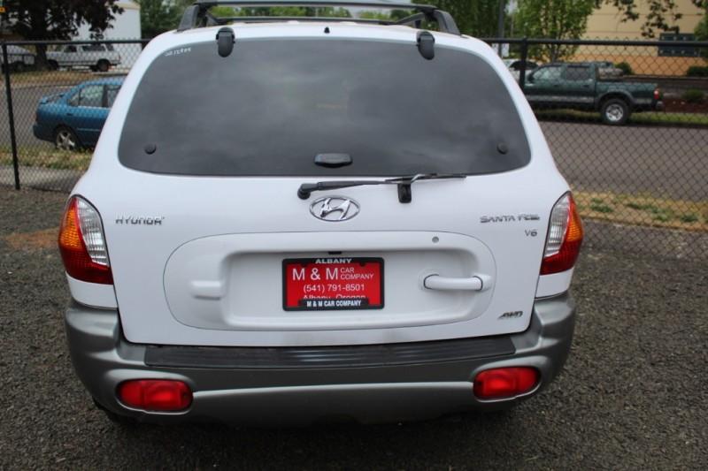 2002 Hyundai Santa Fe 4dr Suv Gls Awd M M Car Company Auto