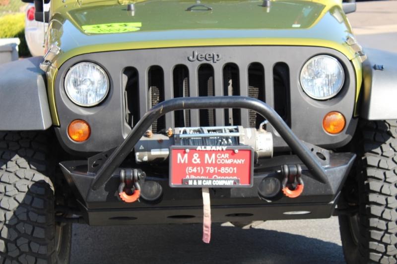 Jeep Wrangler 2008 price $20,999