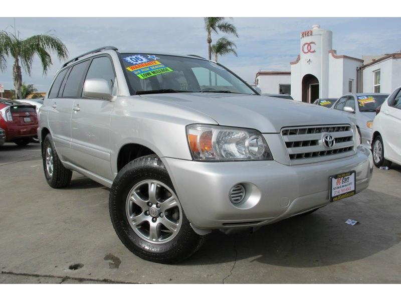 Toyota Highlander 2006 price $8,995