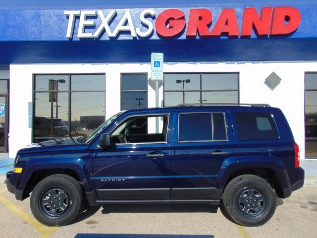 2014 jeep patriot 4wd 4dr sport inventory texas grand auto world auto dealership in el. Black Bedroom Furniture Sets. Home Design Ideas