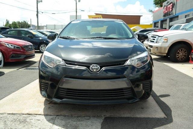 Toyota Corolla 2016 price $9,500