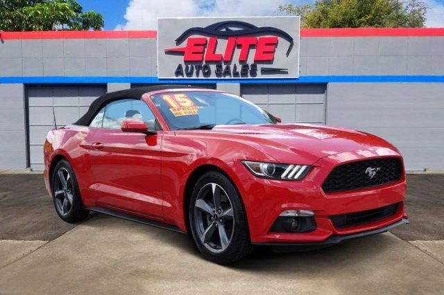 Ford Mustang 2015 price $12,930