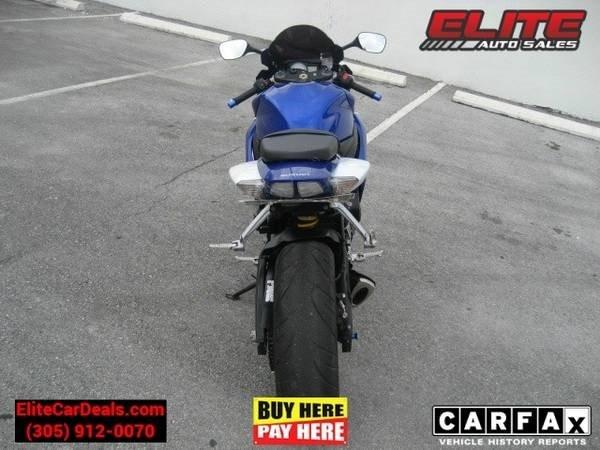 Suzuki GSXR 2007 price $4,495