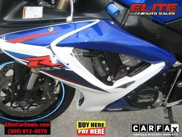 Suzuki GSXR 2007 price $4,995