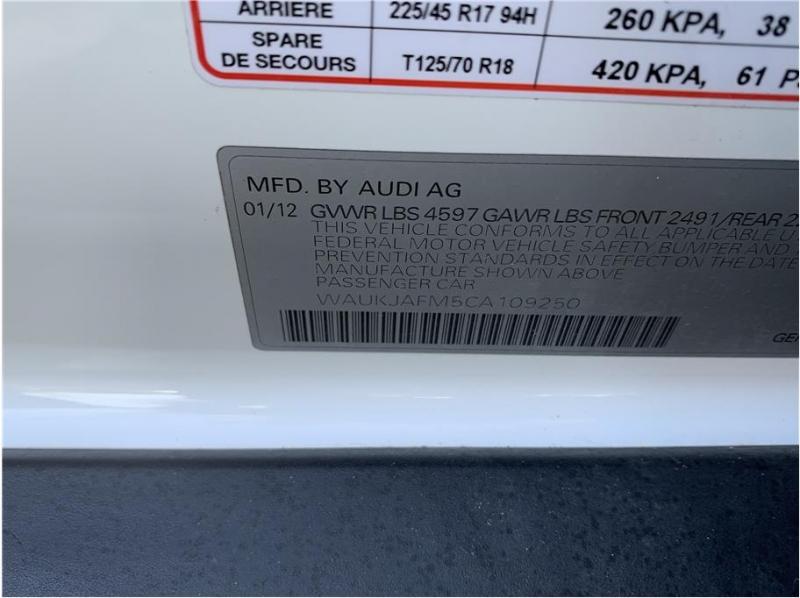 Audi A3 2012 price $12,990