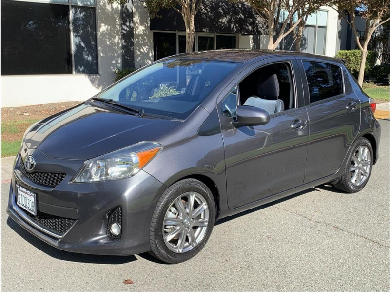 Toyota Yaris 2012 price $8,700