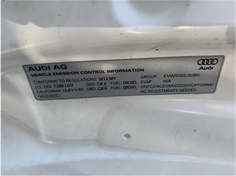 Audi A3 2012 price $12,880