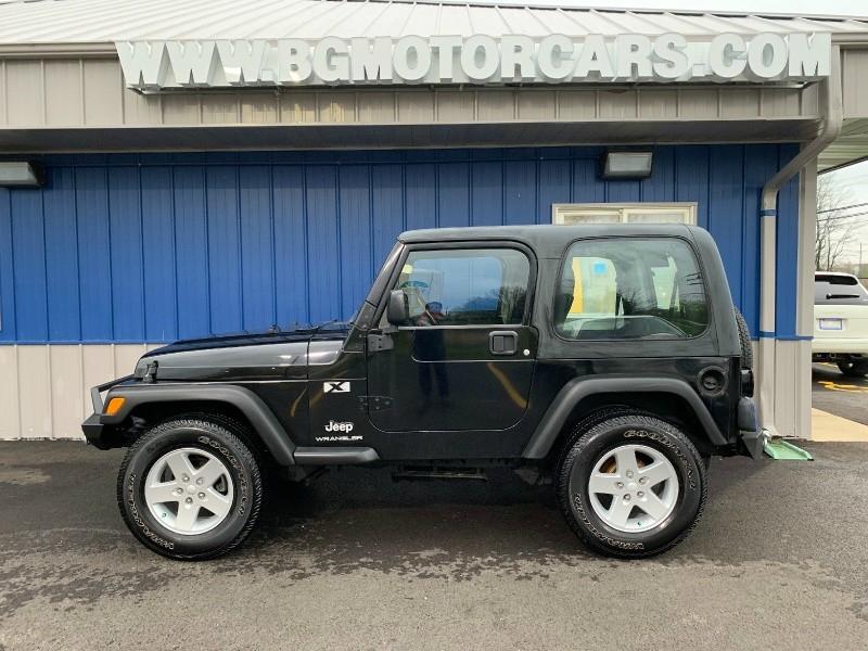 Jeep Wrangler 2004 price $14,498