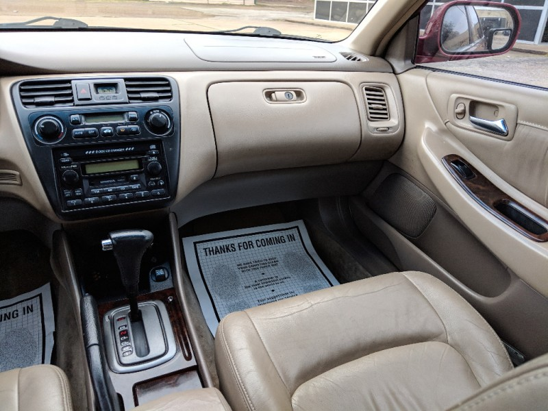 2002 Honda Accord Sdn Ex Auto V6 W Leather